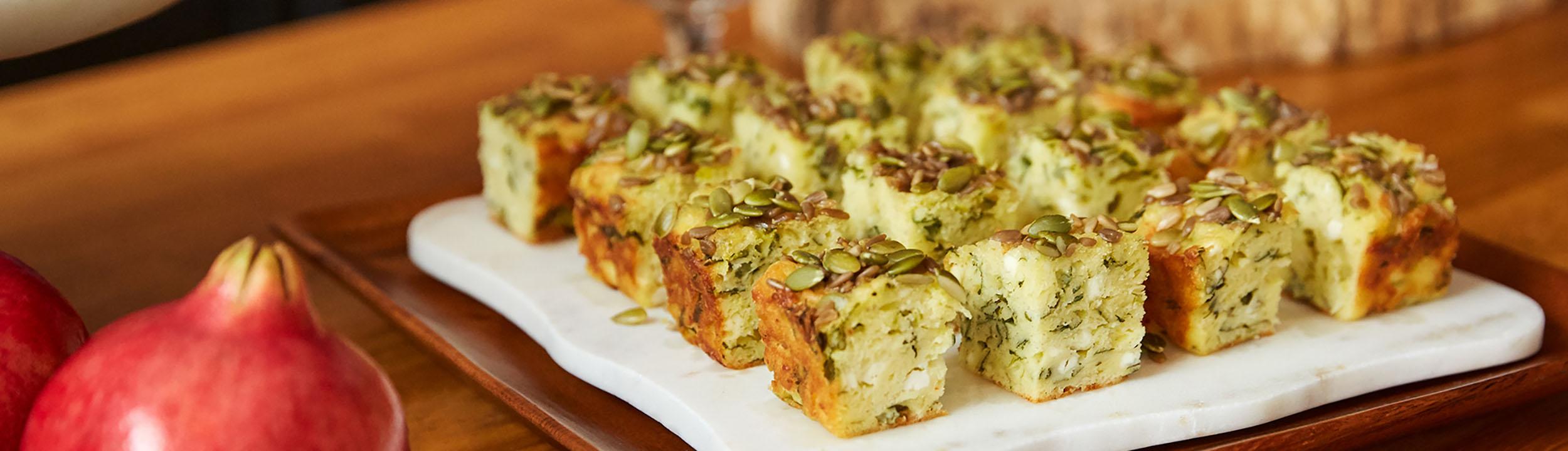 Recette Cake Feta Herbes